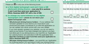 UK шофьорска книжка, подмяна на шофьорска книжка  (Driving Licence)